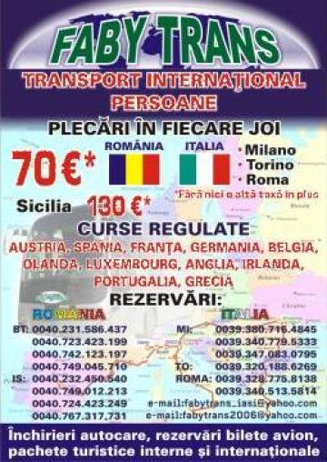 Transport international Romania-Italia