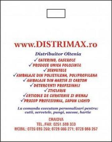 Servetele personalizate de la Distrimax Group