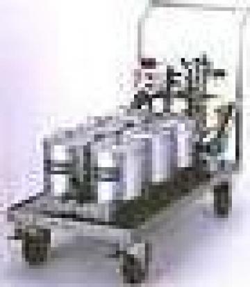 Instalatie pentru filtrarea uleiului 1500 litri/ora de la Antos Grup Srl