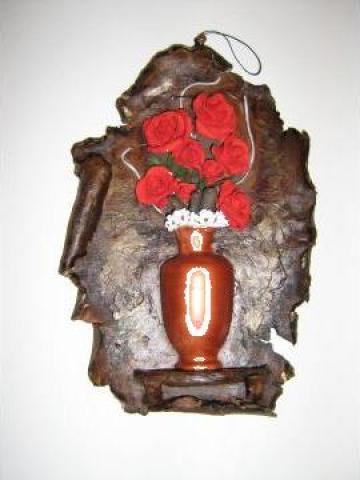 Tablou floral bazorelief de la Sc Lacris Srl