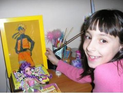 Set tablou decorativ pentru copii de la Prieteni si Culoare