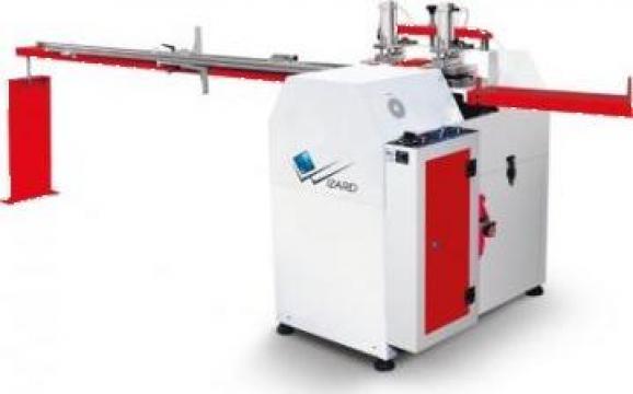 Masina de debitat baghete PVC cu 4 lame automata de la Edilizia Tools Srl