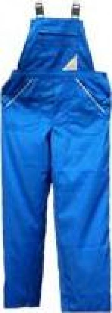 Pantalon cu pieptar
