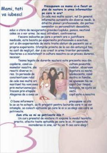 Cursuri de pregatire pentru nastere de la Centru Pregatire Nastere