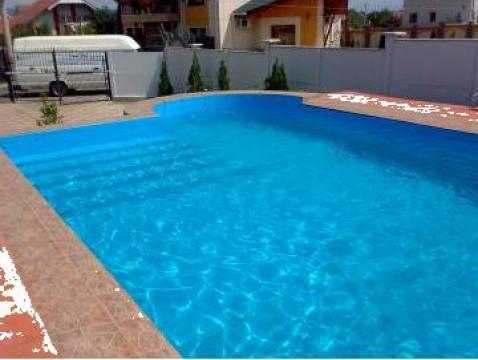 Piscine din beton finisate cu liner deva piscin duo for Piscine beton liner