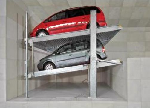 Sisteme de parcare Parklift de la Elmas