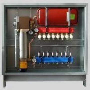 Statii electrice pentru sisteme de incalzire in pardoseala