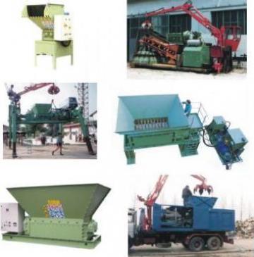 Masini de reciclare (dezintegratoare) stationare si mobile de la Plastic Systems Srl