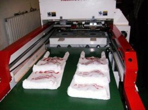 Sudeza profesionala pentru fabricat sacose - maieu
