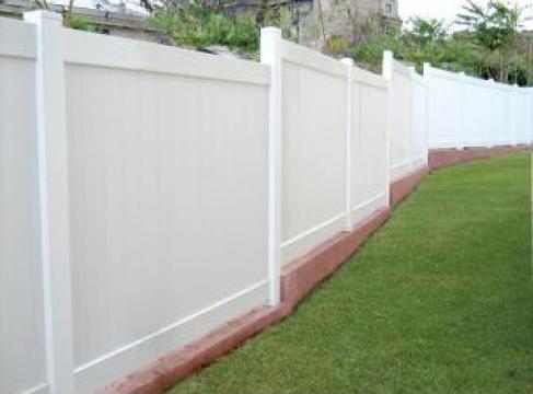 Garduri PVC Dallas D de la Spectrum Construct