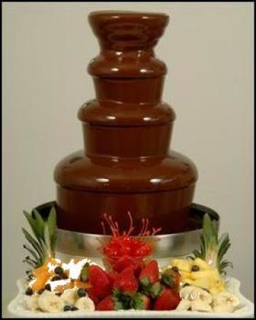 Fantana de ciocolata de la Chocoevent