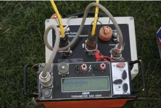 Masuratori geofizice - rezistivitate geoelectrica