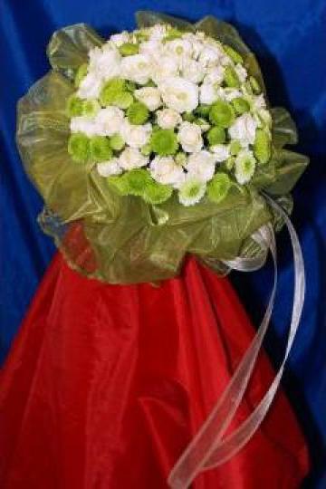 Buchet de mireasa mod 2030 de la Floraria Stil
