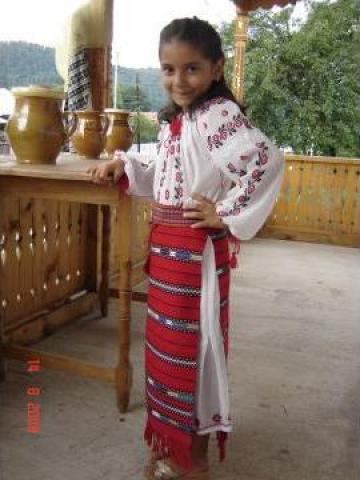 Costum popular copii zona Oltenia