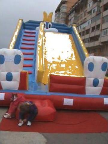 Tobogan gonflabil comercial Inflatable Slide de la Amig
