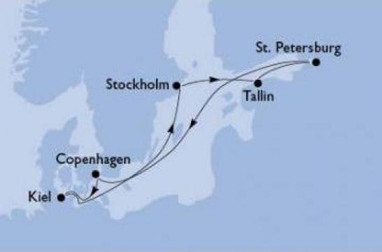 Croaziera la Capitalele Baltice - MSC Cruises-MSC Orchestra