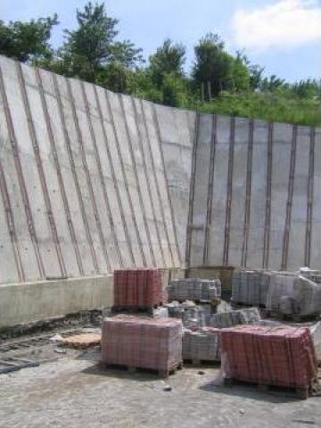 Protectie taluz cu ancore si beton (m.p.)