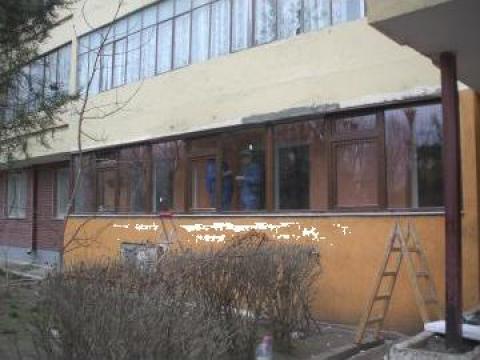 Balcon din PVC Gealan pentru Constanta