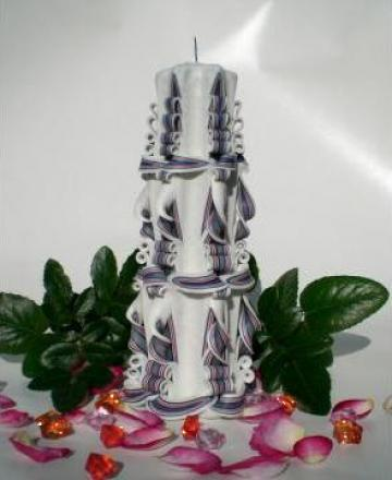 Lumanare sculptata gigantic de la Candle Art
