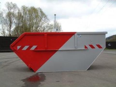 Container metalic fara capac
