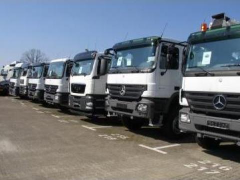 Camioane de la Selcon Grup