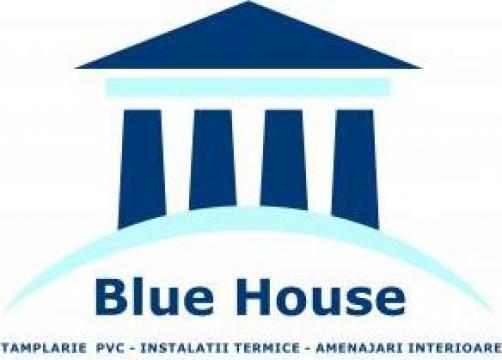 Tamplarie PVC si rulouri exterioare de la Blue House