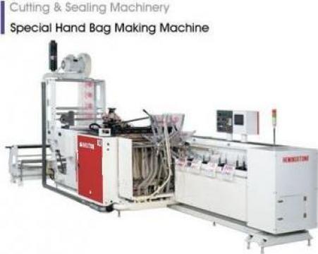 Automat pentru confectionat pungi pentru ambalare automata