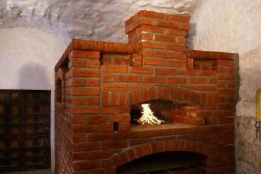 Cuptor paine pe vatra de la Sc Forno D' Oro Srl