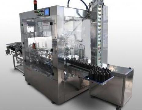 Instalatie de imbuteliat lichide in recipiente mici (esente)