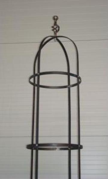 Structuri metalice pentru gradini de la Abraziv Srl