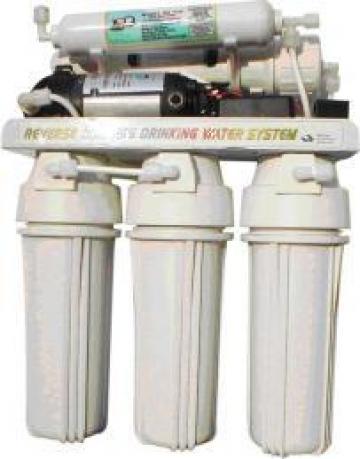 Sistem de filtrare si purificare apa prin osmoza inversa de la Prosond Gabriel Srl