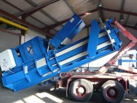 Prese de balotat automate canal Acomat de la Sc Schuster Recycling Technology Srl