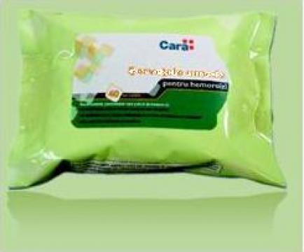 Servetele umede pentru hemoroizi Cara de la Pharmacon Medatena S.r.l.