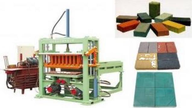 Echipament prelucrare caramizi pavele QFT-30 de la Shengya Machinery Co., Ltd