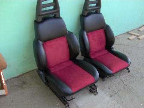 Retapitare scaune auto cu piele naturala