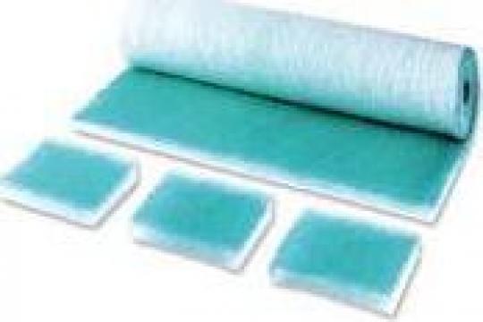 Filtru / Material filtrant G4 (EU4) alb-albastru
