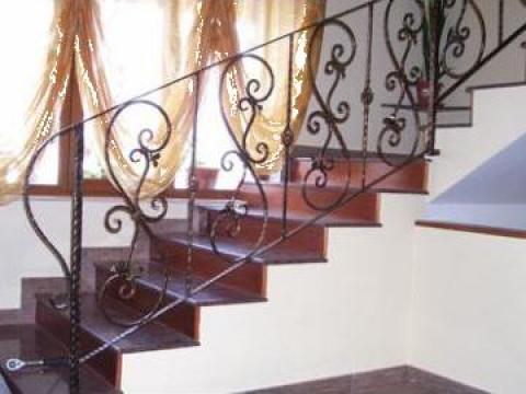 Balustrada scari din fier forjat
