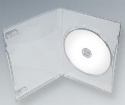 Carcasa DVD Slim Transparenta de la Top Production Srl