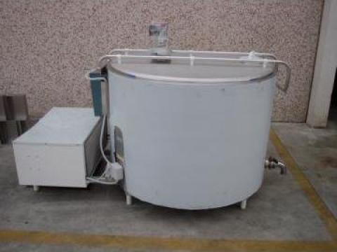 Tanc de racire pentru lapte de la Damar Trading Srl.