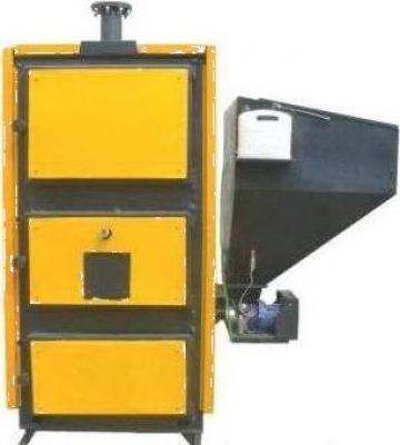 Cazan cu fuctionare pe pellet sau biomasa si lemn MCL-BIO