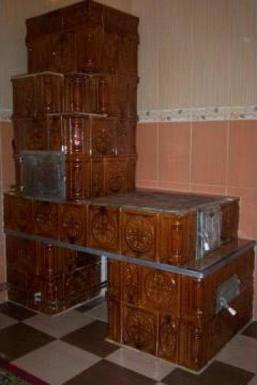 Soba din teracota pentru bucatarie