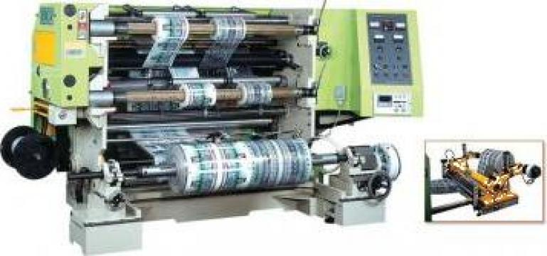 Utilaje productie HCI Slitter-Rewinder