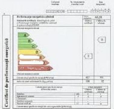 Certificate de performanta energetica de la Auditor Energetic Monor Mihai
