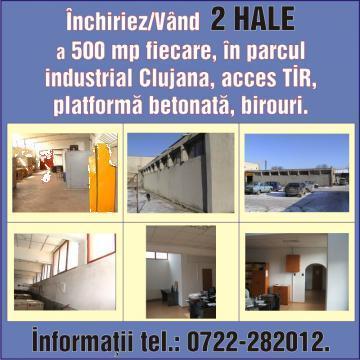Inchiriere hale in Cluj-Napoca