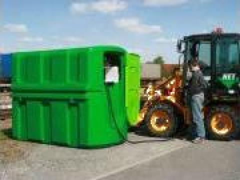 Cisterna pentru depozitare motorina cu pompa distributie