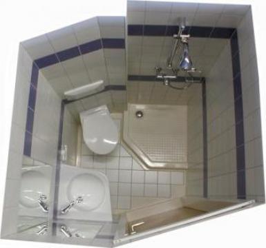 Cabina de baie modulara de la Prodsalt Srl