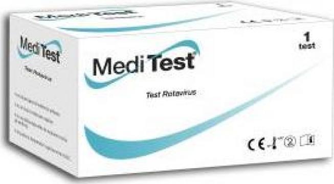 Test pentru depistare Rotavirus - materii fecale MediTest