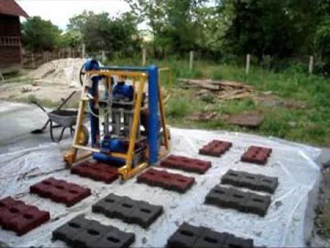 Masina fabricat boltari, borduri pavele de la Public Lavu Srl