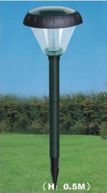 Lampa solara de gradina de la Ecovolt