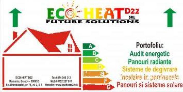 Panou radiant Ecosun U 700 de la Eco Heat D22